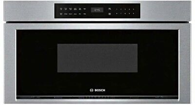 FREE SHIPPING New OEM Bosch HMD8053UC 30 Inch Wide 1.2 Cu. Ft. Drawer Microwave