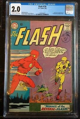 Flash #139 CGC 2.0 1st appearance of Professor Zoom (Reverse Flash) Off White