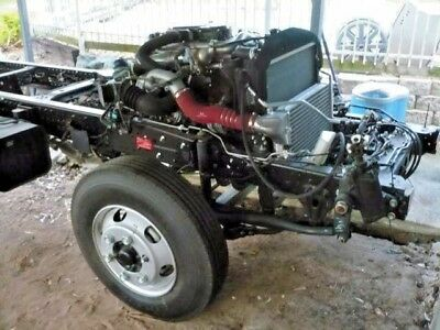 Hino 300 2015 model - 921 complete rolling chassis motor