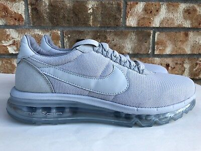 ef4822f2134 Men s Nike Air Max LD-Zero Running Shoes Pure Platinum Grey Size 8.5 848624-