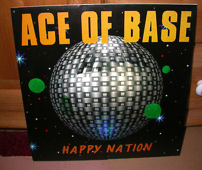 Ace of Base , Happy Nation,  Vinyl LP,   Mega Records,  Denmark