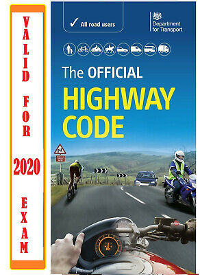 NEW OFFICIAL HIGHWAY CODE BOOK DVSA LATEST EDITION for 2018 Driving Test L UK hw