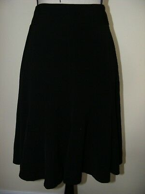 JACQUI E Panelled Fit and Flare SKIRT Made in AUST Size 14 AS NEW