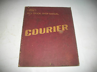 Original 1973 Ford Courier Truck Shop Manual  Cmystor4More