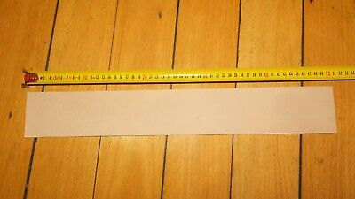 KANGAROO SKIN LEATHER STRIP VEG TANNED NATURAL 500 x 75 craft & strop etc. marks