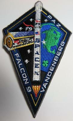 Falcon 9 Paz Space Patch Original New
