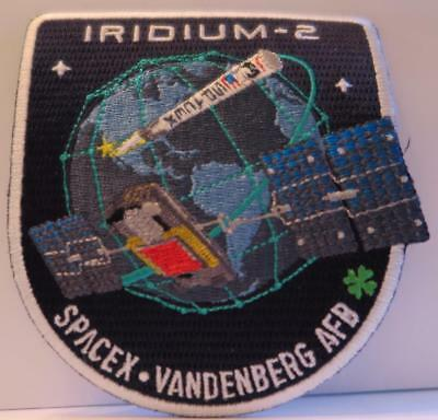 Iridium - 2 Spacex Falcon 9 Mission Patch Launched From Vandenberg Afb