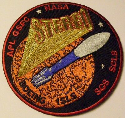 Delta Ii Nasa Stereo Mission Satellite Usaf Patch