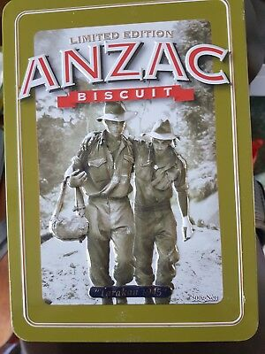Collectable Anzac Biscuit Tin Limited Edition Tarakan 1945