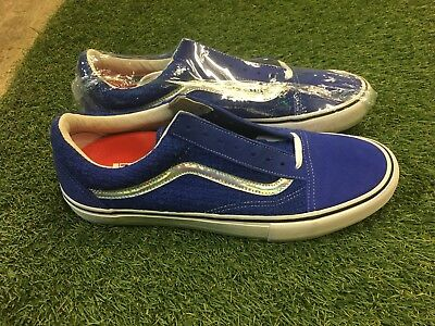 6e6920e7ec3 Supreme New York X Vans Old Skool Iridescent Royal Blue US Men s Sz 13