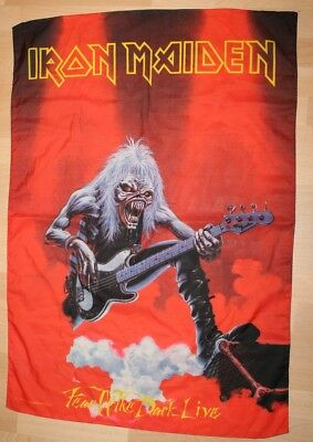 Iron Maiden, Fear of the Dark live, 1993 Fahne, Flagge, Banner, rar, rare