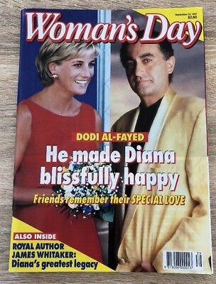 Women's Day Magazine September 22, 1997 Diana and Dodi Al- Fated