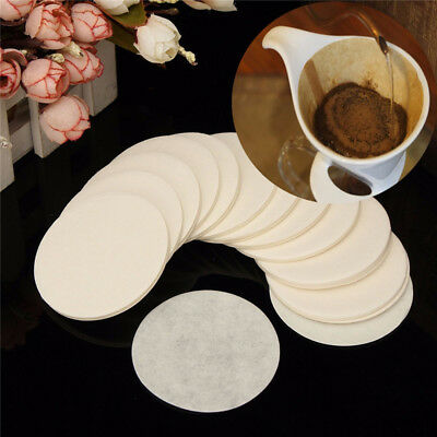 350PCS  Tea Coffeeware Coffee Maker Filter Paper Round Replacement for Aeropress