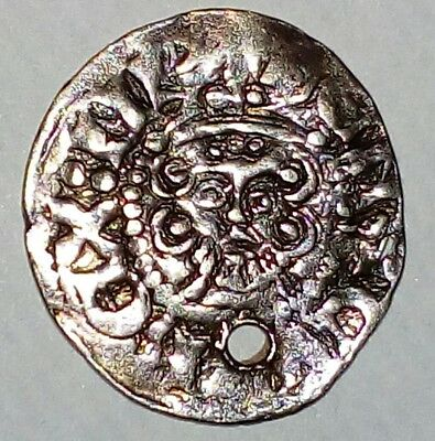 Stunning English Henry 3rd Long Cross Penny  Great Detail Rare Find