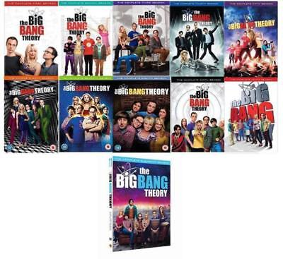 The Big Bang Theory: Complete Series Seasons 1-11 DVD Set-Brand New Seal