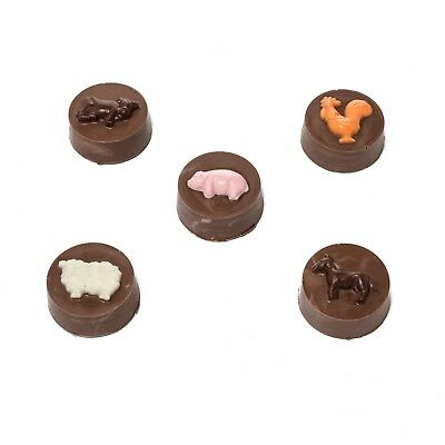 Farm Animal Oreo Cookie Chocolate Mould or Soap Mould