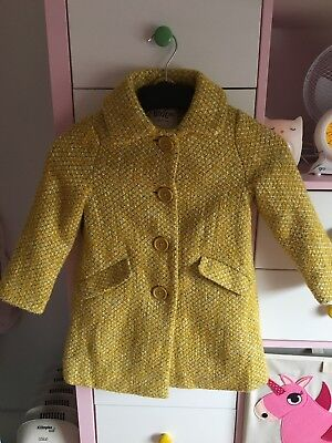 Mini Boden Girls Coat Age 3-4