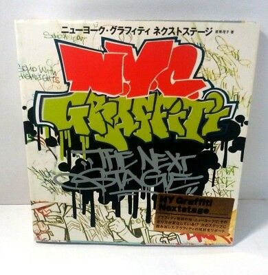 New York Graffiti Next Stage 2006 Japan book TATS CRU,Color in the lite,T-KID 17