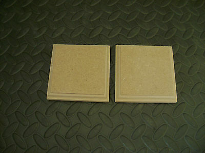 MDF 18mm Wooden Carft Shapes Blanks Plaques Templates Plinth Square Rectangle