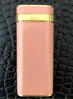 Cartier Trinity Lighter - Very Rare Pink Lacquer Edition.