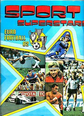 Sport Superstar-Euro Football 82-Panini-Presenti+Di 250 Figurine
