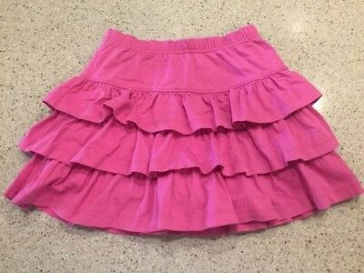HANNA ANDERSSON Three Tiers Scooter Skirt Skort PINK Size 120 6-7