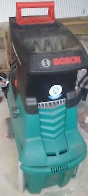Bosch Quiet garden shredder. Model AXT 25 TC