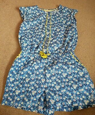 Summer Girls Playsuit By Mini Boden - Age 7-8 Years In Fabulous Condition