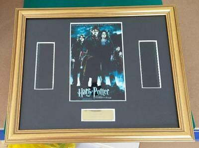 Harry Potter Framed And Mounted Double Film Cell Goblet Of Fire