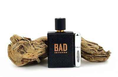 Diesel Bad Intense Eau De Parfum Silver Travel Atomiser Sample 5ml