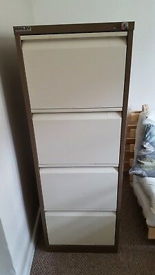 Bisley filing cabinet 4 drawer