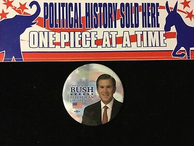 George W. Bush Republican Dignity 3 Inch Button Bag 12