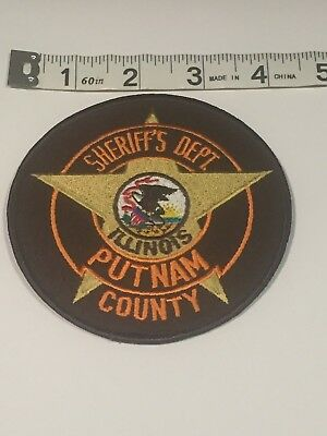 Illinois Police Patch - Putnam County Sheriff