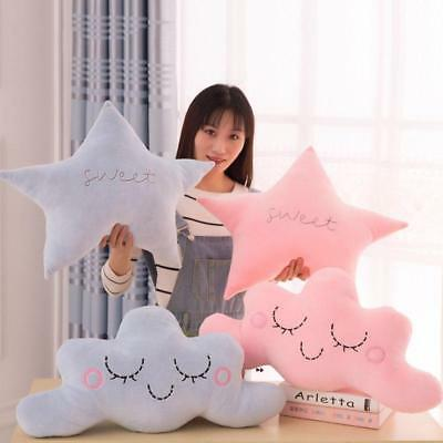 Moon Star Cloud Soft & Breathable Cushion Pillow With Fashion PP Cotton Filling