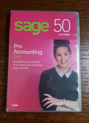Sage Software Sage 50 Pro Accounting 2018 U.S Please read discription