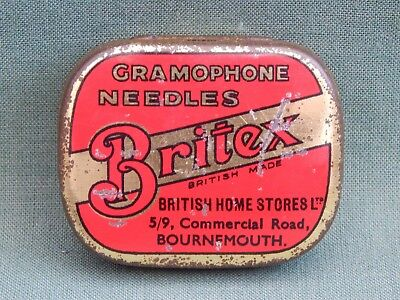 Britex - Gramophone Needle Tin.