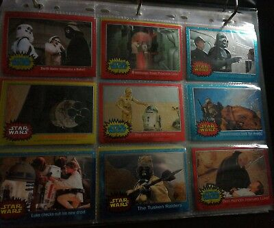 topps Star wars cards set 90 please check for yourself