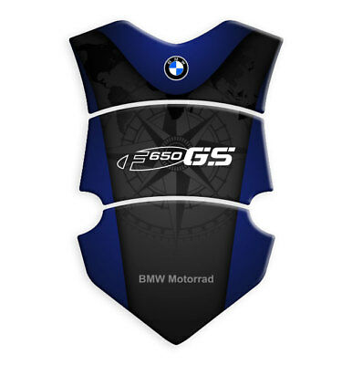 BMW F800GT Oxford OX521 Motorcycle Bumper Essential Tank Protector Pad White