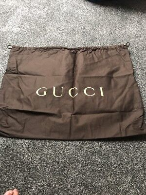 "Genuine Gucci Large Dust Bag , 12"" X 18"" Draw String"