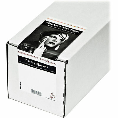 "Hahnemuhle Baryta FB 60"" x 39' Paper, 350 GSM — 1 Roll Available"