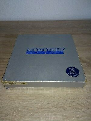 Altes Monopoly 102/2 Spiel, Silber Edition