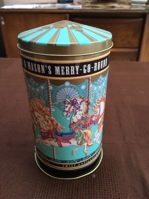 Fortnum And Mason Merry Go Round Musical Tin
