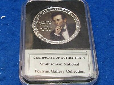 LINCOLN Collectors  Medallion...combine shipping 1 to 25 coins for $2.60