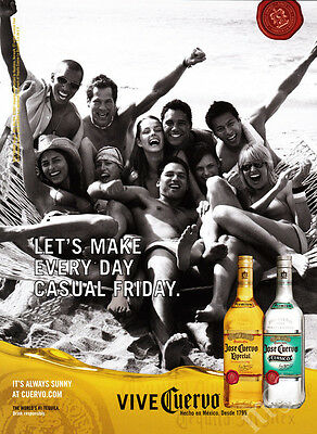 Jose Cuervo 1-page 2007 print ad - Every Day Casual Friday