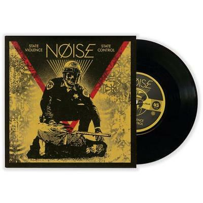 """SHEPARD FAIREY """"State Violence / State Control"""" 7 """"vinyle 45T ed-lim-signé 1000"""