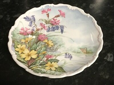 Royal Albert 'Primrose & Bluebell'  Plate Flowers Of The Hedgerow Collection
