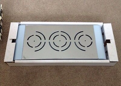 New Typhoon Ultimate Triple Curved Food Warmer Blue Party Come Dine With Me Bbq