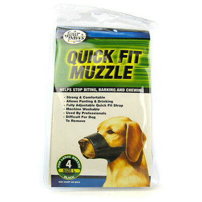 FOUR PAWS - Quick Fit Muzzle for Dogs - Size 4