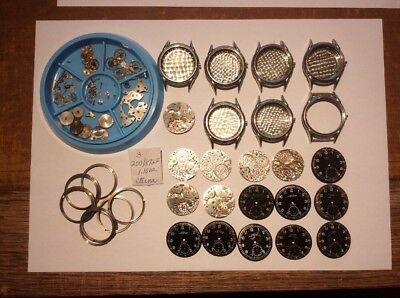 Eterna military Style watches cal 520 Birks / Challenger Projects / Parts