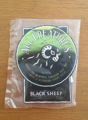 Black Sheep All Creatures Pump Clip Real Ale Yorkshire Beer Brewery